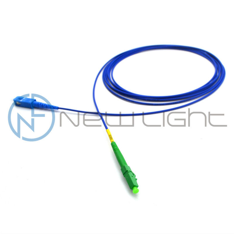 LC APC Armoured 8 Degree Optical Fiber Patch Cord Sc Lc
