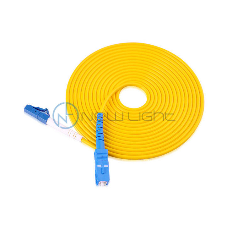 Sc Lc Blue Connector Internet 5G Optical Fiber Patch Cord